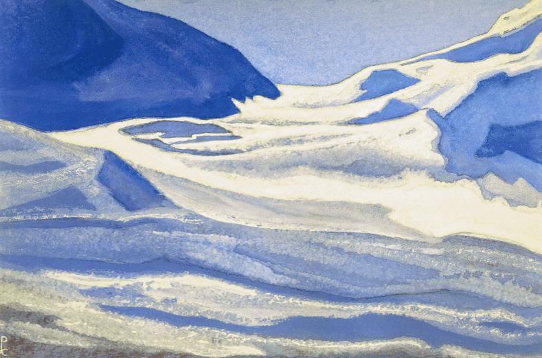 Pass # 120 Pass (Waves Glacier). Roerich N.K. (Part 5)