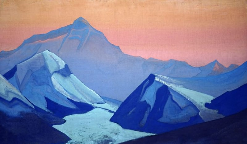 Himalayas. Everest. Roerich N.K. (Part 5)