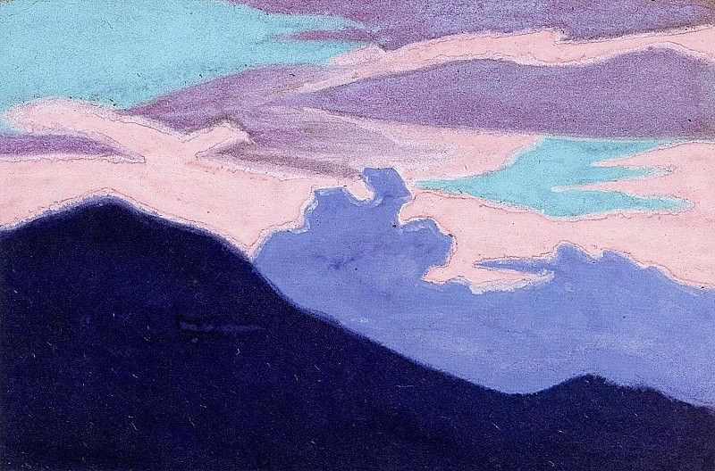 Himalayas #326. Roerich N.K. (Part 5)