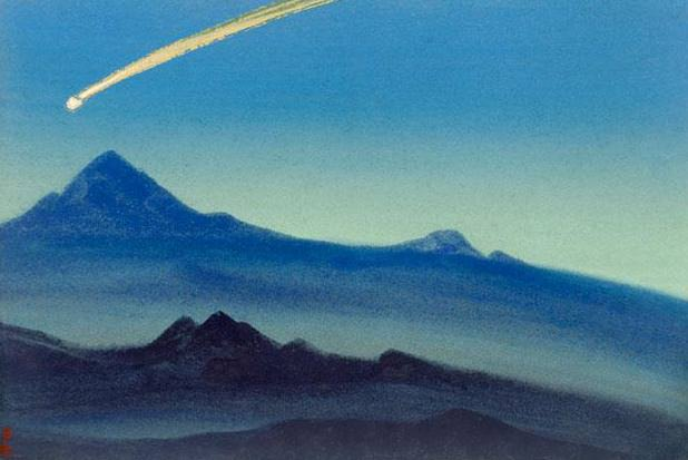 Comet # 86. Roerich N.K. (Part 5)