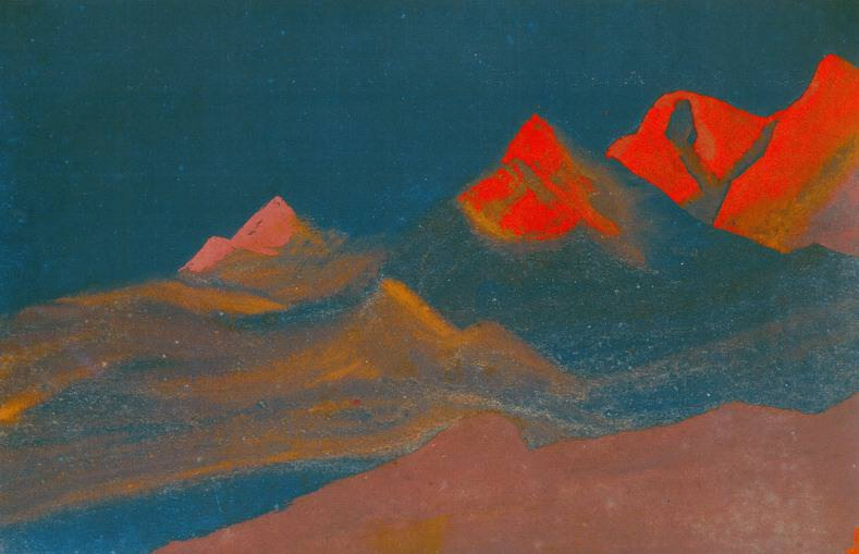 # 33 Dawn Dawn (first light). Roerich N.K. (Part 5)