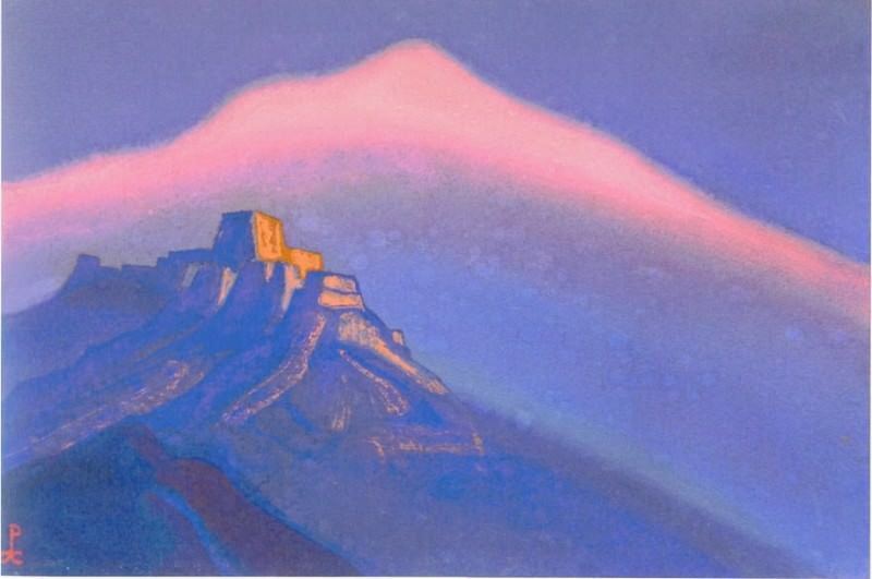 Tibet (Mountain abode) # 23. Roerich N.K. (Part 5)
