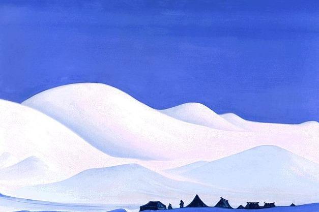Chantung (North Tibet) # 62 (Chiang Tung. Northern Tibet). Roerich N.K. (Part 5)