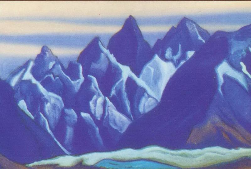 Ladakh # 104. Roerich N.K. (Part 5)