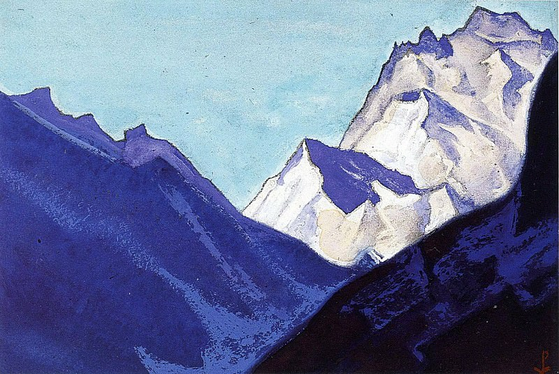 The Himalayas # 131. Roerich N.K. (Part 5)