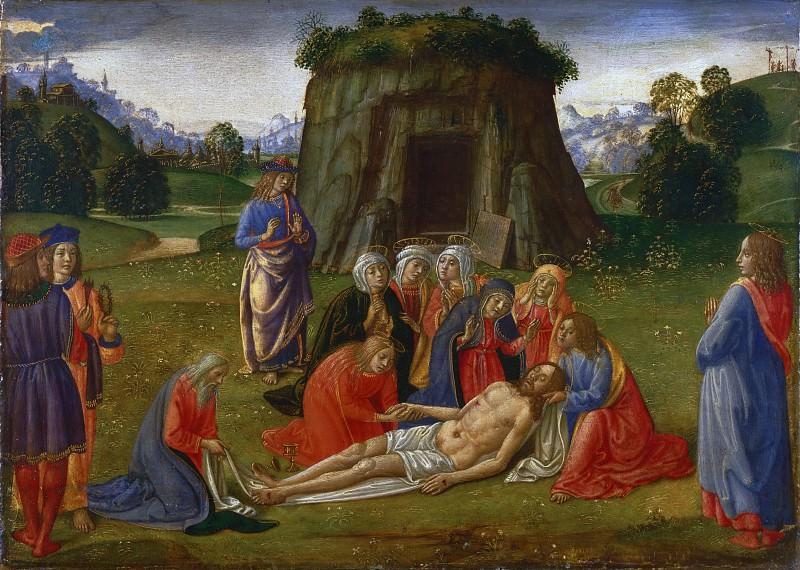 Cosimo Rosselli, Italian (active Florence), 1439-1507 -- Lamentation. Philadelphia Museum of Art