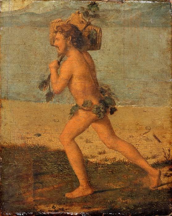 Cima da Conegliano (Giovanni Battista Cima), Italian, active Venice and Veneto, 1459/60-1517/18 -- Bacchant. Philadelphia Museum of Art