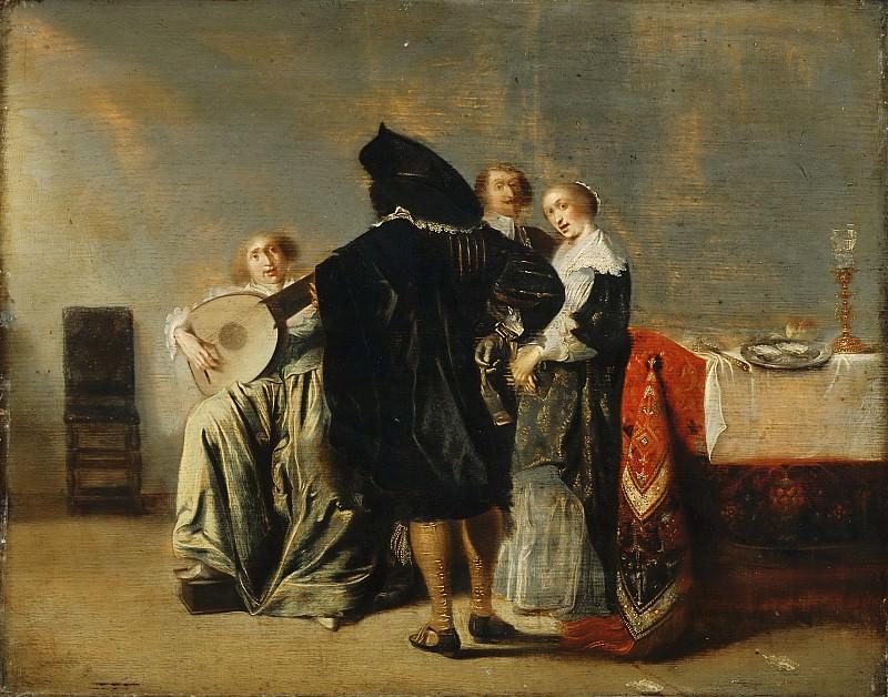 Pieter Codde, Dutch (active Amsterdam), 1599-1678 -- The Lute Player. Philadelphia Museum of Art