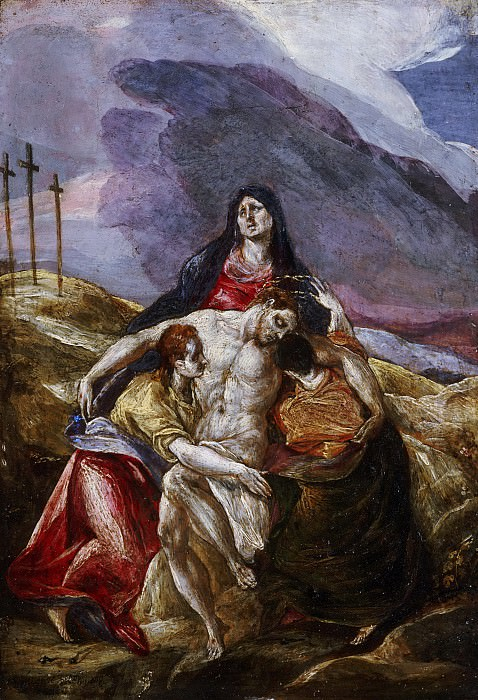 Pieta. El Greco