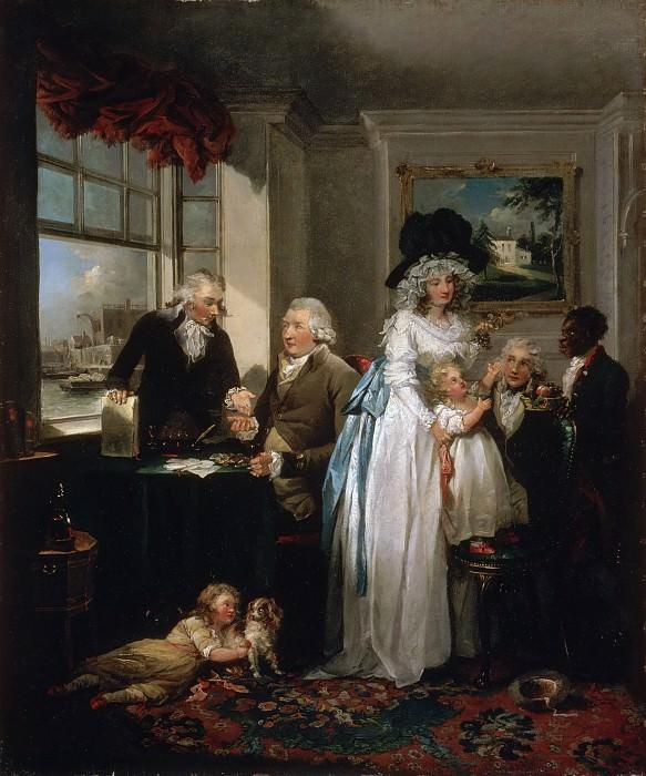 Морланд, Джордж (Лондон 1763-1804) - Плоды бережливости и первых шагов промышленности. Музей искусств Филадельфии