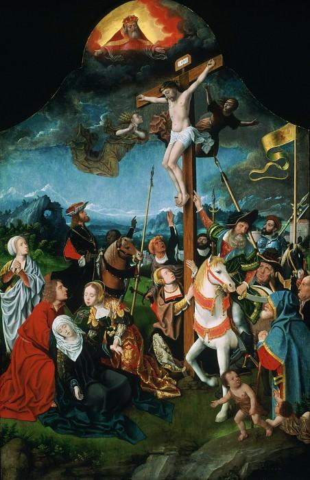 Мостарт, Ян (Харлем ок1475-1555) -- Распятие. Музей искусств Филадельфии