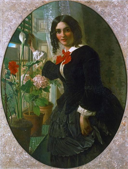 Коллинсон, Джеймс (ок1825-1881) - Впустить. Музей искусств Филадельфии