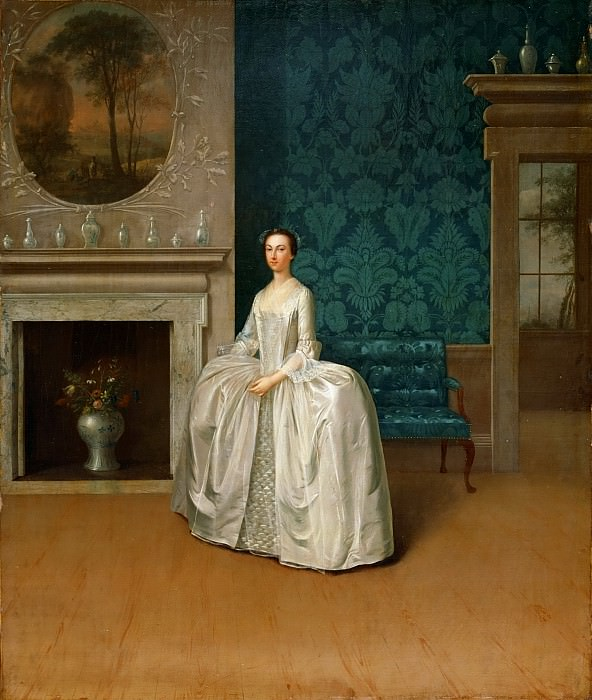 Дэвис Артур (1711 Престон - 1787 Брайтон) -- Леди Джулиана Пенн. Музей искусств Филадельфии