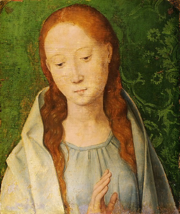 Мемлинг, Ганс (ок1435 Зелигенштадт - 1494 Брюгге) - Мадонна. Музей искусств Филадельфии
