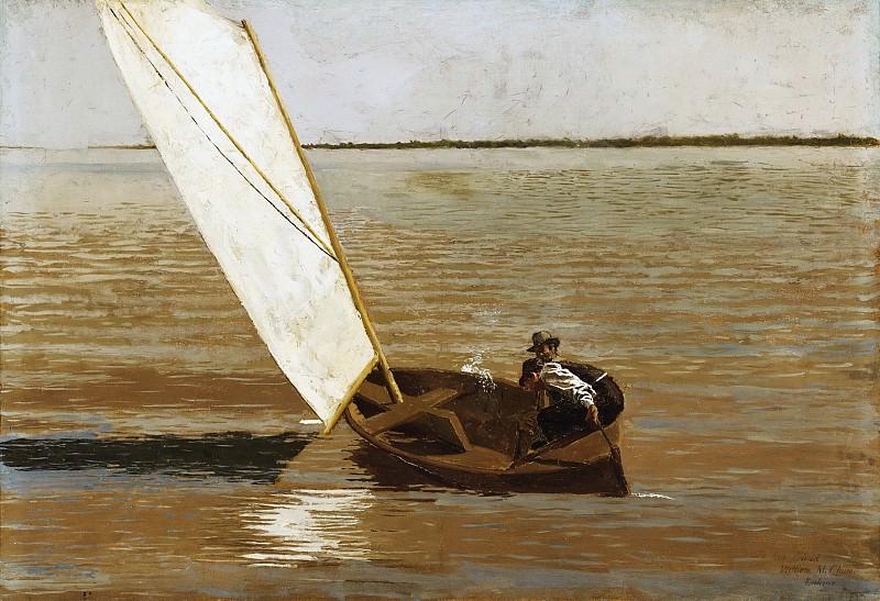 Икинс, Томас (Филадельфия 1844-1916) - Плавание под парусом. Музей искусств Филадельфии