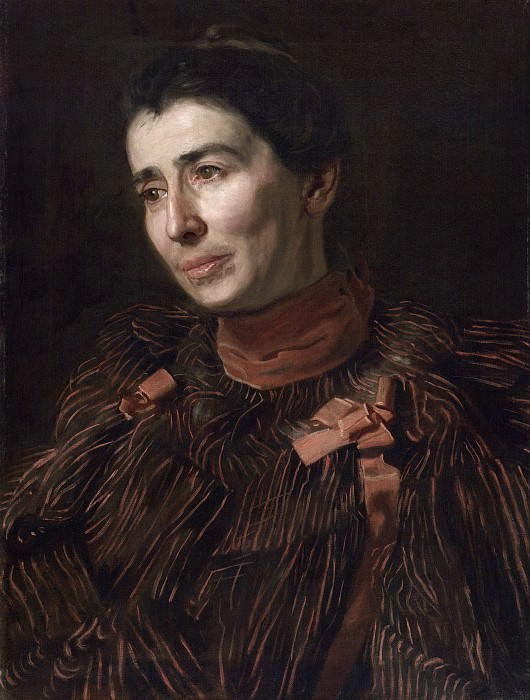 Thomas Eakins, American, 1844-1916 -- Portrait of Mary Adeline Williams. Philadelphia Museum of Art