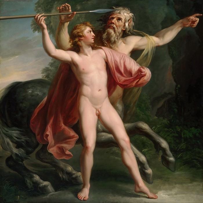 Чиприани, Джованни Баттиста (1727 Флоренция - 1785 Хаммерсмит) - Обучение Ахиллеса. Музей искусств Филадельфии