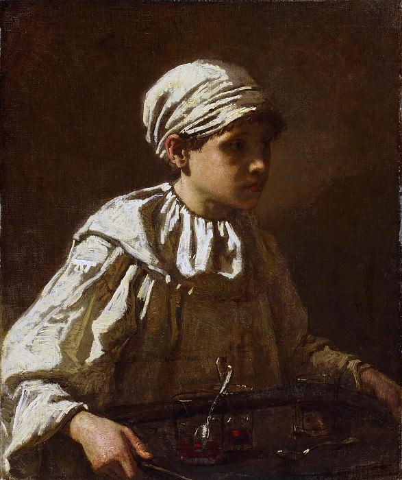 Кутюр, Тома (1815 Санлис - 1879 Виллье-ле-Бель) - Юный кондитер. Музей искусств Филадельфии