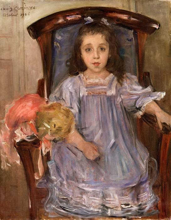 Lovis Corinth, German, 1858-1925 -- Portrait of Sophie Cassirer. Philadelphia Museum of Art