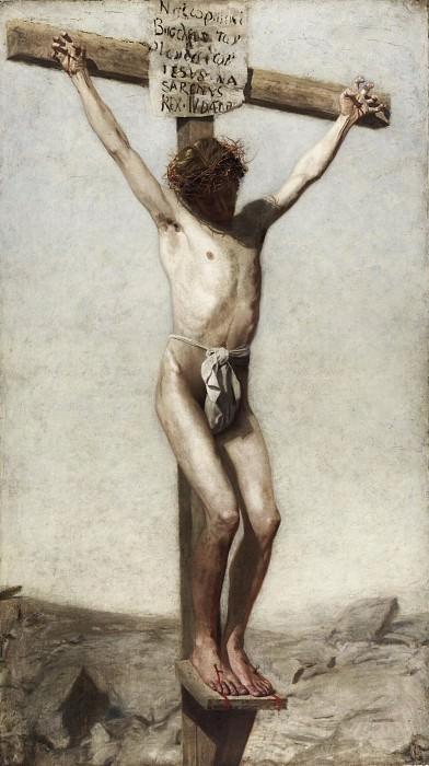 Икинс, Томас (Филадельфия 1844-1916) - Распятие. Музей искусств Филадельфии