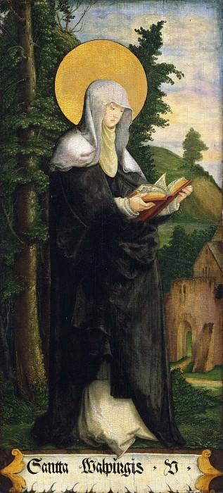 Master of Messkirch, German, active 1520-1540 -- Saint Walpurgis. Philadelphia Museum of Art