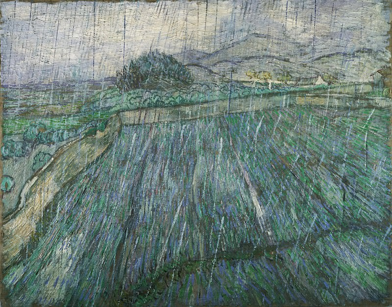 Rain. Vincent van Gogh