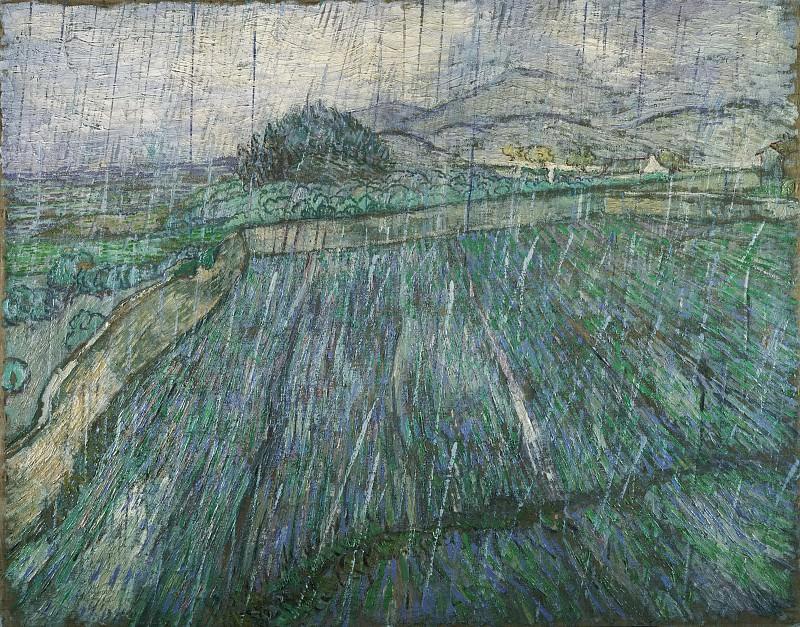Дождь. Винсент Ван Гог