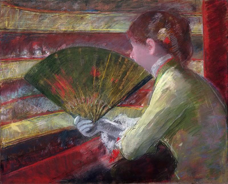 Кэссет, Мэри (1844-1926) - В театральной ложе. Музей искусств Филадельфии