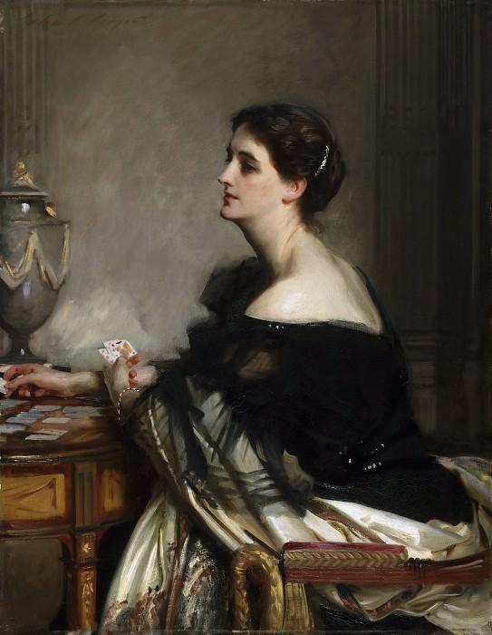 John Singer Sargent, American (active London, Florence, and Paris), 1856-1925 -- Portrait of Lady Eden. Philadelphia Museum of Art