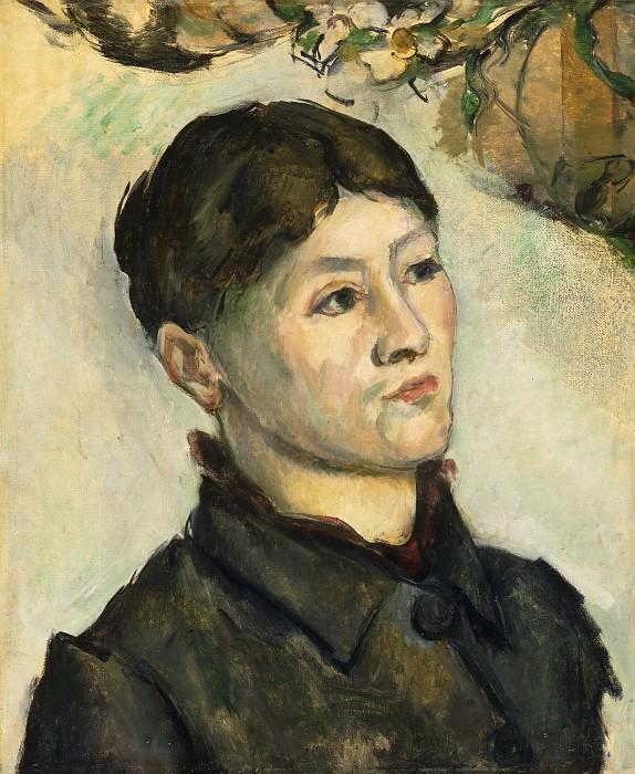 Сезанн, Поль (Экс-ан-Прованс 1839-1906) - Портрет мадам Сезанн. Музей искусств Филадельфии
