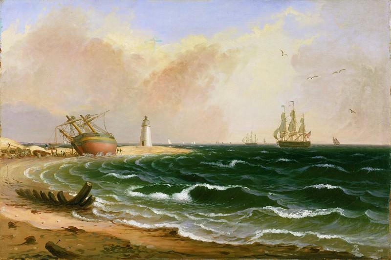 Эйхольц, Джейкоб (1776-1842) -- Мыс Хинлопен. Музей искусств Филадельфии
