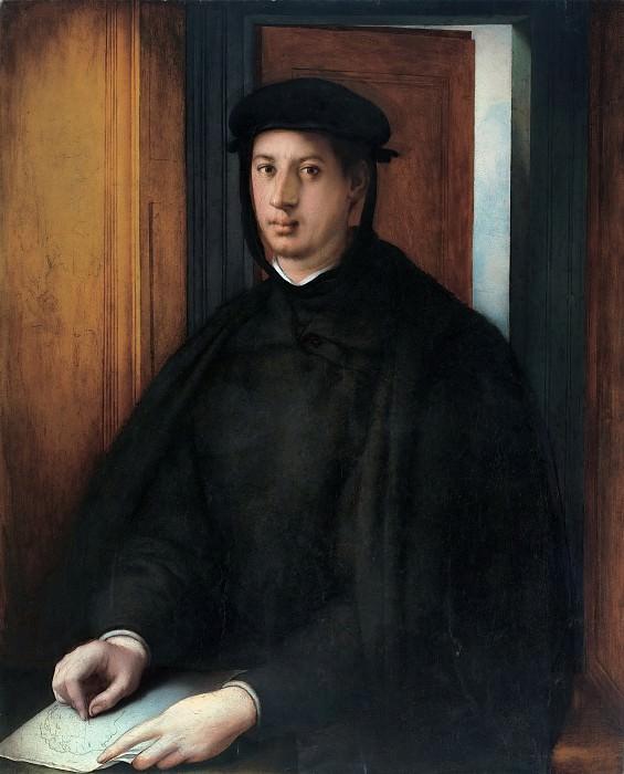 Pontormo (Jacopo Carucci), Italian (active Florence), 1494-1557 -- Portrait of Alessandro de' Medici. Philadelphia Museum of Art