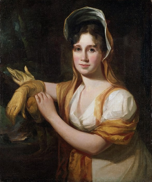 Thomas Sully, American (born England), 1783-1872 -- Portrait of Sarah Sully, Wife of the Artist. Philadelphia Museum of Art