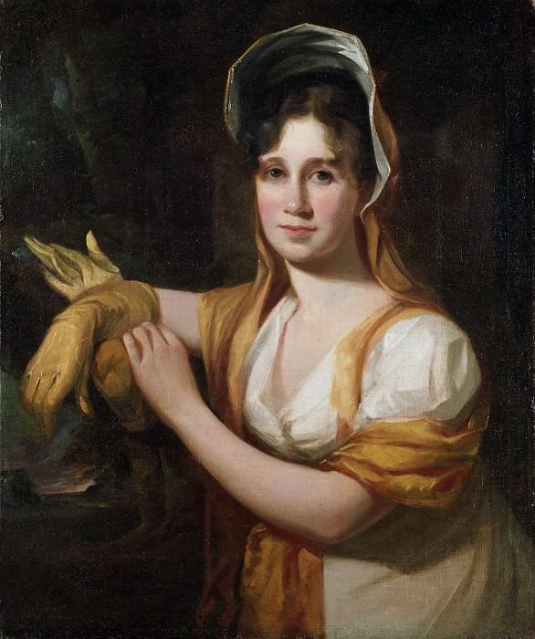 Салли, Томас (1783 Хорнкейстл - 1872 Филадельфия) -- Сара Салли, жена художника. Музей искусств Филадельфии