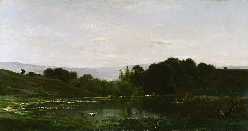 Добиньи, Шарль-Франсуа (Париж 1817-1878) - Одиночество. Музей искусств Филадельфии