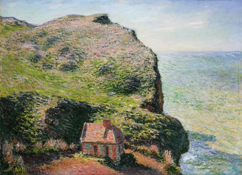 Claude Monet, French, 1840-1926 -- Customhouse, Varengeville. Philadelphia Museum of Art