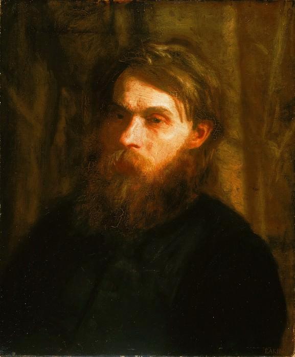 Thomas Eakins, American, 1844-1916 -- The Bohemian (Portrait of Franklin Louis Schenck). Philadelphia Museum of Art