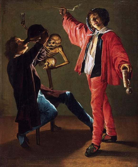 Judith Leyster, Dutch (active Haarlem and Amsterdam), 1609-1660 -- The Last Drop. Philadelphia Museum of Art
