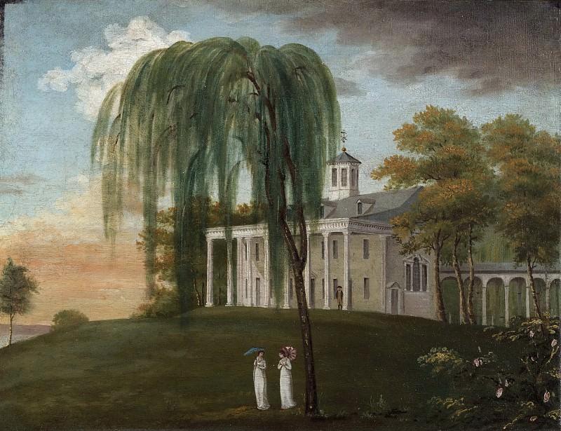 Уисс Дж. -- Дом Джорджа Вашингтона. Музей искусств Филадельфии