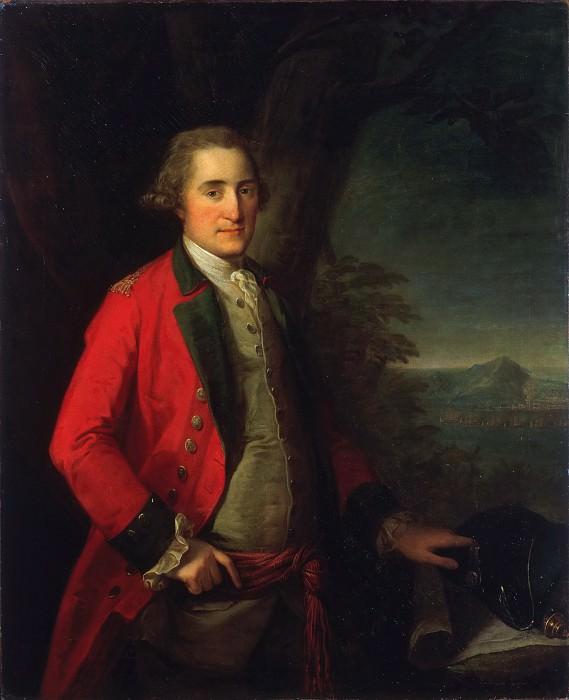 Angelica Kauffman, Swiss, 1741-1807 -- Portrait of Lieutenant General James Cunninghame. Philadelphia Museum of Art