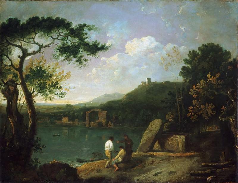 Richard Wilson, Welsh, 1713-1782 -- Lake Avernus I. Philadelphia Museum of Art