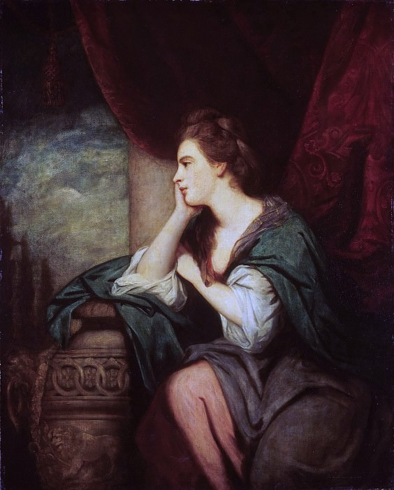 Sir Joshua Reynolds, English, 1723-1792 -- Portrait of Lady Mary O'Brien. Philadelphia Museum of Art (later 3rd Countess of Orkney)