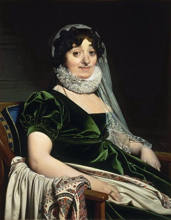 Jean-Auguste-Dominique Ingres, French, 1780-1867 -- Portrait of the Countess of Tournon. Philadelphia Museum of Art