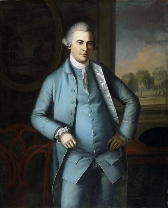 Пил, Чарльз Уилсон (1741-1827) -- Полковник Ламберт Кадуоладер. Музей искусств Филадельфии
