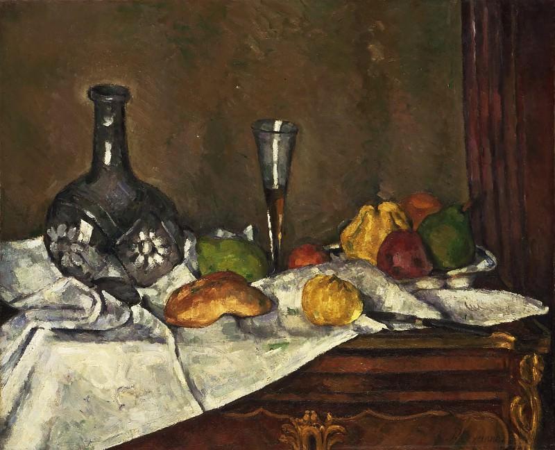 Paul Cézanne, French, 1839-1906 -- Still Life with a Dessert. Philadelphia Museum of Art