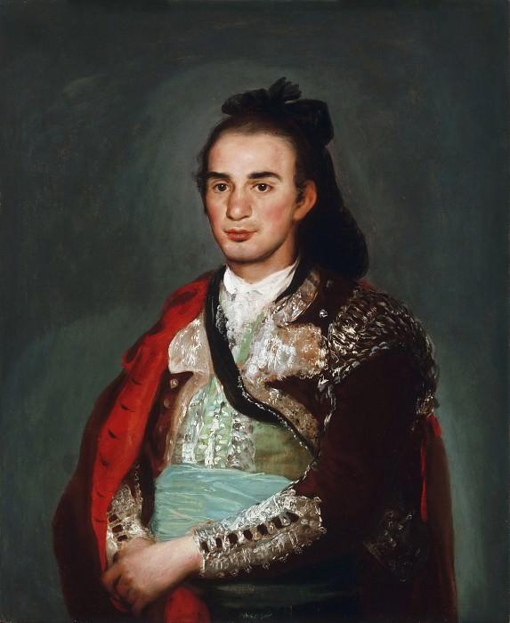 Francisco José de Goya y Lucientes, Spanish, 1746-1828 -- Portrait of the Toreador José Romero. Philadelphia Museum of Art