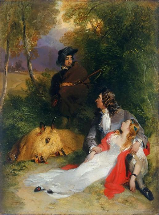 Sir Edwin Landseer, English, 1802-1873 -- The Bride of Lammermoor. Philadelphia Museum of Art