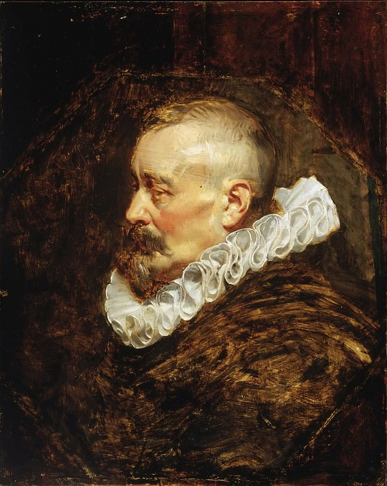 Peter Paul Rubens, Flemish (active Italy, Antwerp, and England), 1577-1640 -- Portrait of a Gentleman (possibly Burgomaster Nicholaes Rockox). Philadelphia Museum of Art