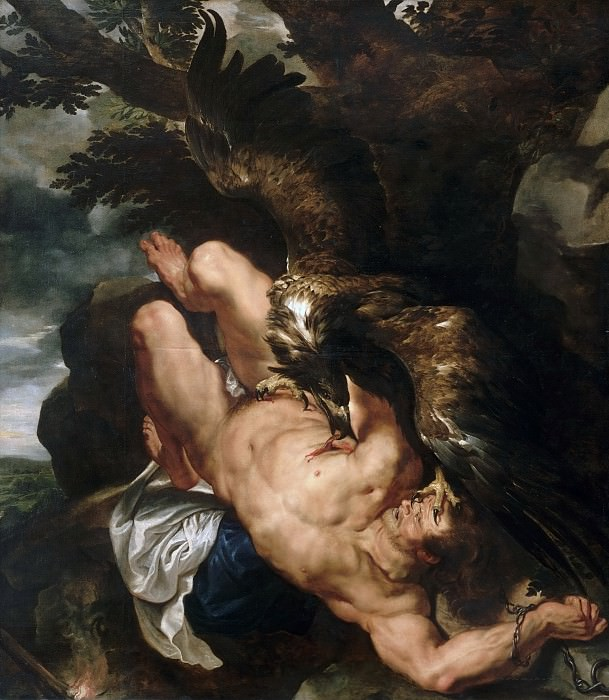 Prometheus Bound - 1610- 1612. Peter Paul Rubens