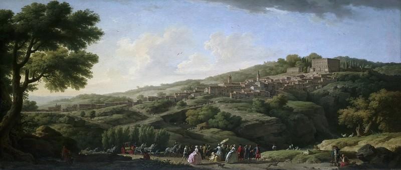 Claude-Joseph Vernet, French, 1714-1789 -- Villa at Caprarola. Philadelphia Museum of Art